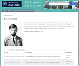 Great Writers Inspire: D.H. Lawrence