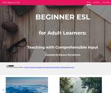 Beginner ESL for Adult Learners
