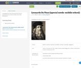Leonardo Da Vinci (special needs -middle school)