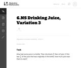 Drinking Juice, Variation 3