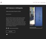 EAP: Women in Wikipedia