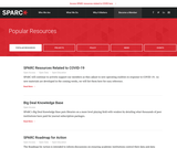 SPARC Popular Resources