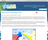 Where Does the Arctic Begin? End?