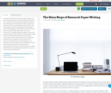 The Main Steps of Research Paper Writing