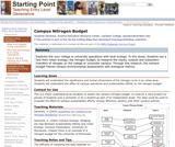 Campus Nitrogen Budget