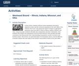 Westward Bound – Illinois, Indiana, Missouri, and Ohio