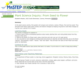 Plant Science Inquiry: From Seed to Flower