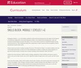 Grade K: Reading Foundations Skills Block: Module 1
