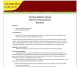 Freshman Statistics Seminar - Week 9: Formulating Hypotheses