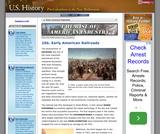 25b. Early American Railroads