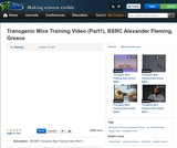 Transgenic Mice Training Video (Part1), BSRC Alexander Fleming, Greece