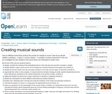 Creating Musical Sounds