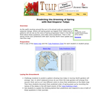 Predicting the Greening of Spring with Red Emperor Tulips