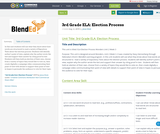3rd Grade ELA: Election Process