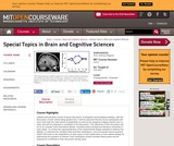 Special Topics in Brain and Cognitive Sciences, Fall 2001