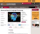 Advanced Natural Language Processing, Fall 2005