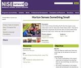 Horton Senses Something Small