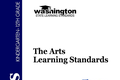 Washington State The Arts Learning Standards: Theatre