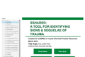 SSHARED:  A Tool for Identifying Signs & Sequelae of Trauma