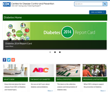 Center for Disease Control Diabetes Public Health Resource