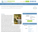 Energy Systems and Solutions