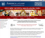 Becoming Modern: America in the 1920's: Primary Sources