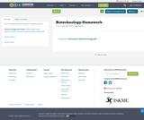 Biotechnology-Homework