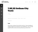 7.RP,EE Gotham City Taxis