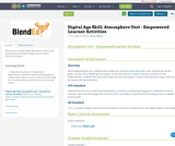 Digital Age Skill: Atmosphere Unit - Empowered Learner Activities