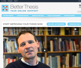 Better Thesis - tools for writing  your thesis