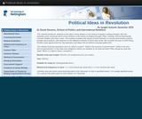 Political ideas in revolution