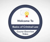Basics of Criminal Law