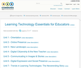 Learning Technology Essentials for Educators