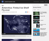 Antarctica: Fimbul Ice Shelf Fly-over