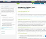 Immigration Mapping Project