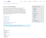 BI 101 - General Biology 1