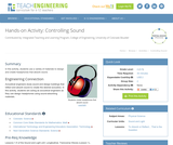 Controlling Sound