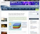NOVA: How Do Solar Panels Work?
