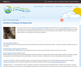 Activities for Studying Tree Rings Online
