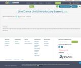 Line Dance Unit (Introductory Lesson)