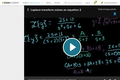 Differential Equations: Laplace Transform Solves an Equation 2