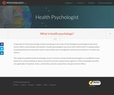 Health Psychologist