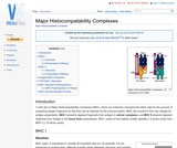 Major Histocompatability Complexes