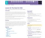 CS Principles 2019-2020 1.12: The Need for DNS