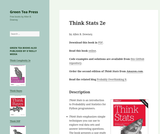 Think Stats: Probability and Statistics for Programmers