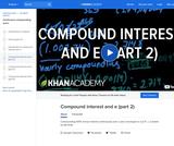 Finance & Economics: Compound Interest and E (Part 2)