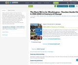 The State We're In: Washington - Teacher Guide Ch. 4: 1900-2000: A Century of Change