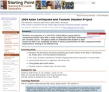 2004 Asian Earthquake and Tsunami Disaster Project