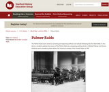 Reading Like a Historian: Palmer Raids