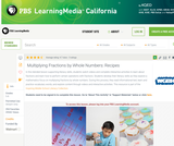 Multiplying Fractions by Whole Numbers: Recipes